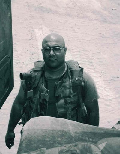 Sal in Iraq 2003