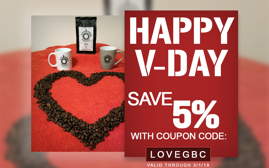 Happy V-Day from everyone at Gun Barrel Coffee